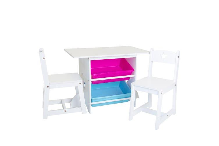 Mia Kids Table and Chair Set