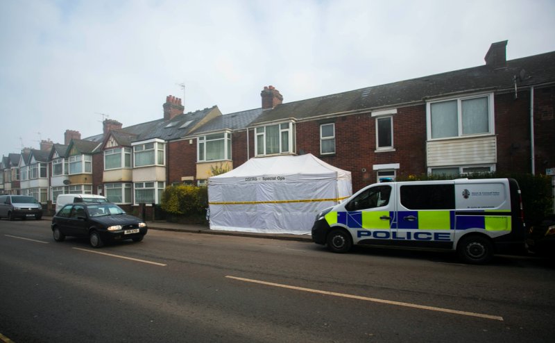 The prosecution revealed the victims were all killed in Exeter, Devon, just a couple of hours apart (SWNS)