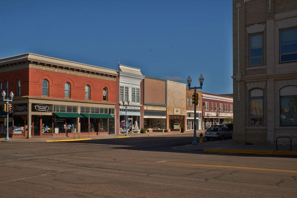 """<p>With a main shopping district that looks right out of an Edward Hopper painting, Laramie has a slower pace that invites you to unwind. Though you won't find a cavernous antique mall, you will find <a href=""""http://visitlaramie.org/activity/antiques/"""" rel=""""nofollow noopener"""" target=""""_blank"""" data-ylk=""""slk:smaller shops that are worth a peek"""" class=""""link rapid-noclick-resp"""">smaller shops that are worth a peek</a>.</p>"""