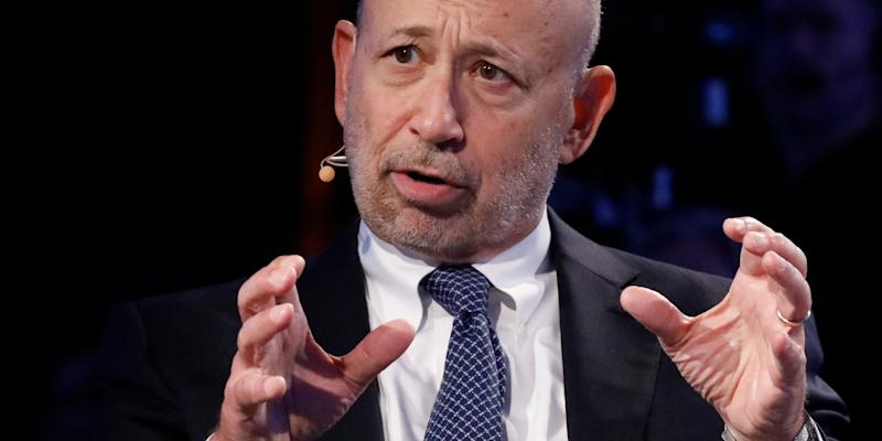 lloyd blankfein goldman sachs chairman and ceo