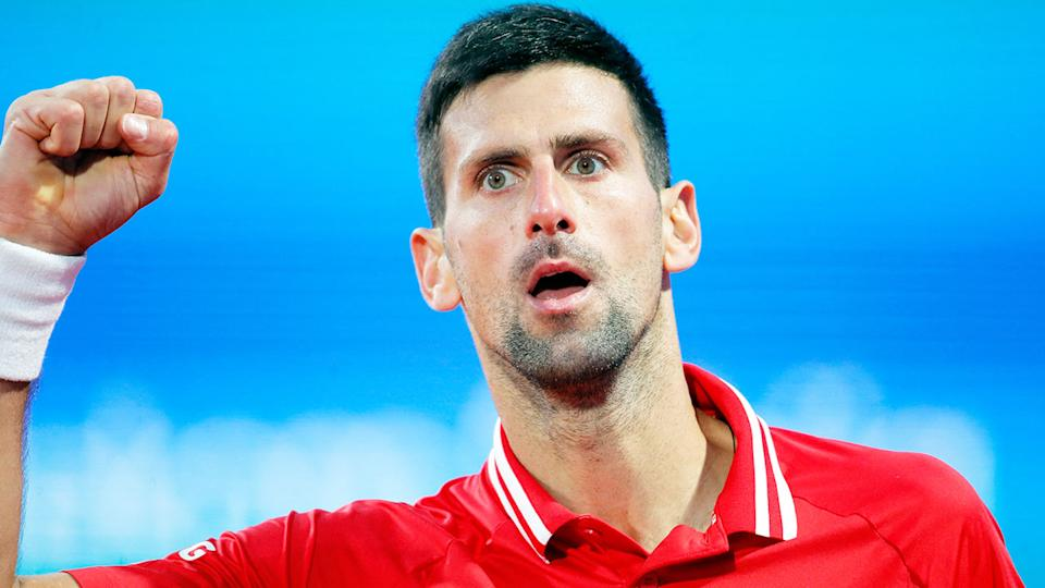 Novak Djokovic has been at the top of men's tennis for a record 320 weeks. Pic: Getty