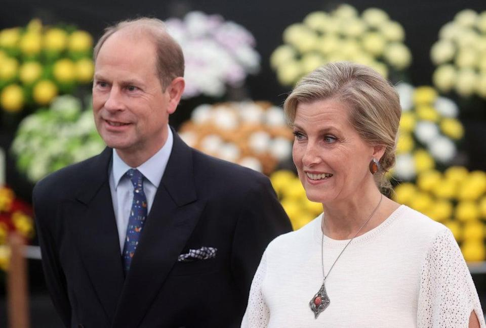The Earl and Countess of Wessex  (PA)
