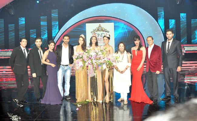 Sobhita was crowned Femina Miss Itimes Digital Diva by Karan Johar. She also won the cash prize of Rs.1 lakh. (IANS)