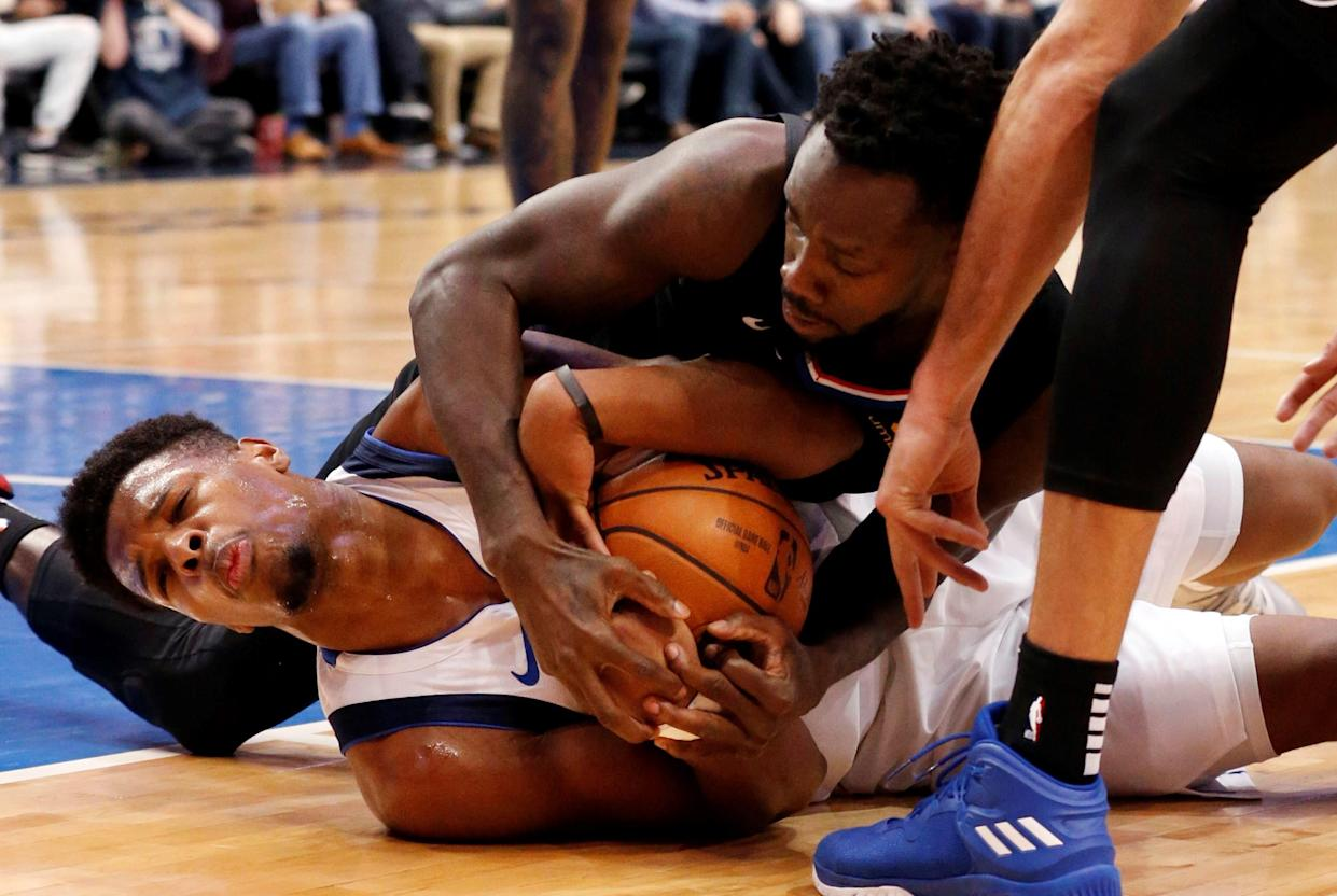 Dennis Smith Jr. has a date with the dentist coming up. (AP Photo)