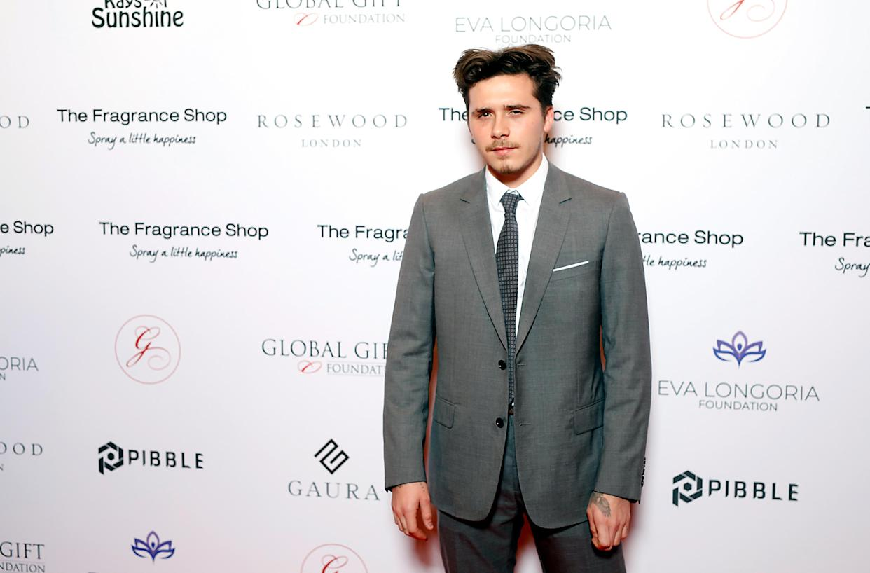Brooklyn Beckham attending the 9th Annual Global Gift Gala held at the Rosewood Hotel, London.