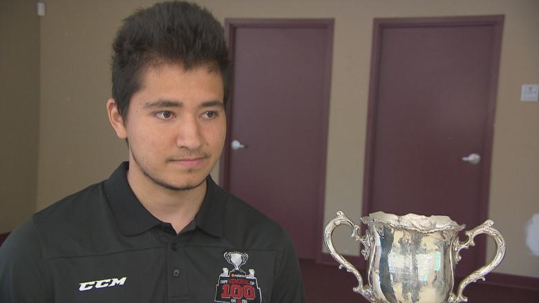 Elsipogtog player with Titan brings Memorial Cup to First Nation community