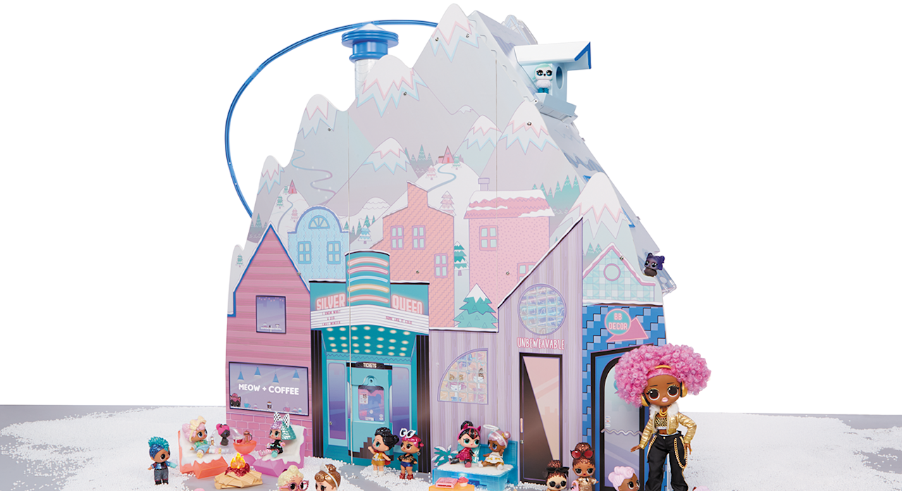 "The latest addition to the hugely popular L.O.L Surprise franchise. The winter disco chalet has six rooms over three stories, a working ski lift and 95 + surprises. Suitable for ages 3+.<strong> </strong><a href=""https://fave.co/2mUj6wD""><strong>Shop here.</strong></a>"