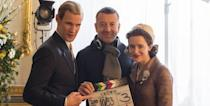 """<p><em>The Crown</em> creator, Peter Morgan, is no stranger to fictional versions of Queen Elizabeth II (he also wrote <a href=""""https://www.amazon.com/Queen-Helen-Mirren/dp/B006RXPYXM/ref=tmm_aiv_swatch_1?tag=syn-yahoo-20&ascsubtag=%5Bartid%7C10056.g.15951860%5Bsrc%7Cyahoo-us"""" rel=""""nofollow noopener"""" target=""""_blank"""" data-ylk=""""slk:The Queen, starring Helen Mirren"""" class=""""link rapid-noclick-resp""""><em>The Queen</em>, starring Helen Mirren</a>), but he says he doesn't want to meet the monarch in person. """"I hope never to meet her,"""" he told <a href=""""http://www.radiotimes.com/news/2016-10-31/the-crown-creator-peter-morgan-i-hope-i-never-have-to-meet-the-queen/"""" rel=""""nofollow noopener"""" target=""""_blank"""" data-ylk=""""slk:Radio Times"""" class=""""link rapid-noclick-resp""""><em>Radio Times</em></a>. """"I've spent so long thinking and writing about the woman it would feel unnatural and uncomfortable. I'd just be embarrassed.""""</p>"""