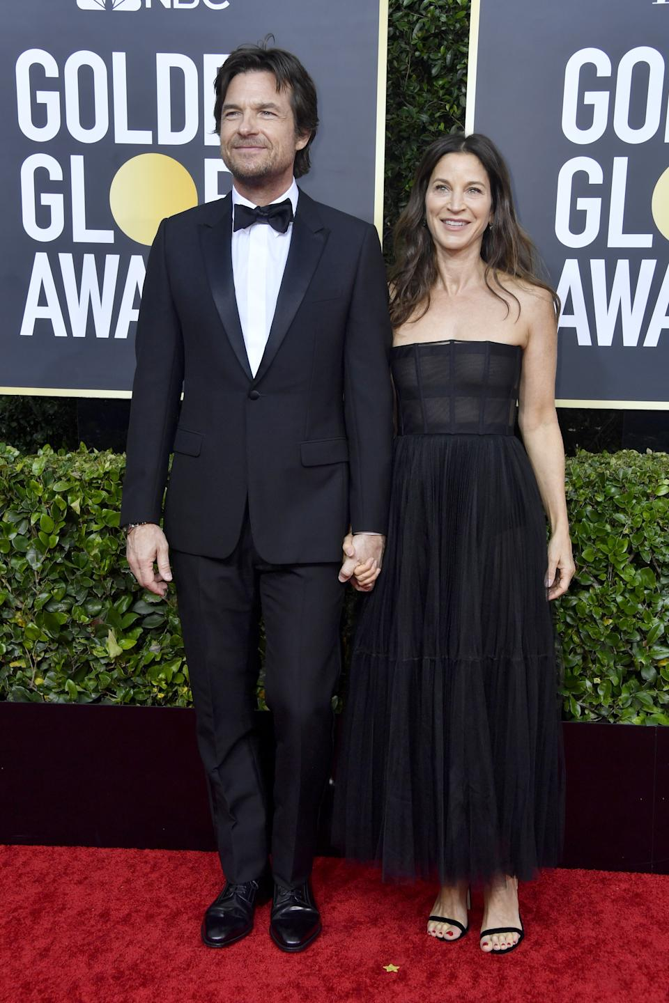 "<h1 class=""title"">Jason Bateman in Dior Men and Amanda Anka</h1><cite class=""credit"">Photo: Getty Images</cite>"