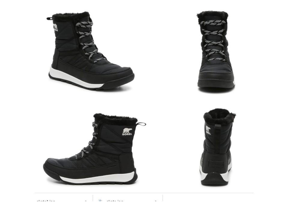 WHITNEY II SHORT LACE SNOW BOOT. (Image via DSW.com)