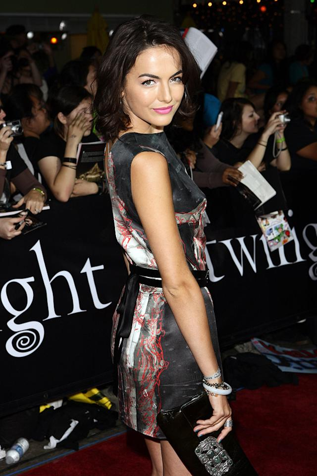 """<a href=""""http://movies.yahoo.com/movie/contributor/1800024058"""">Camilla Belle</a> at the Westwood premiere of <a href=""""http://movies.yahoo.com/movie/1810010670/info"""">Twilight</a> - 11/17/2008"""