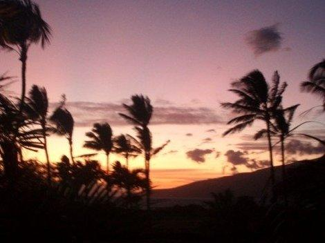 Maui sunset. (Photo courtesy of K.C. Dermody.)