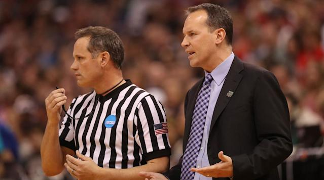 "<p>If you rudimentarily followed March Madness this year, you know that Northwestern made the tournament for the first time ever.</p><p>If you followed it a little closer than that, you might know that Northwestern's loss to Gonzaga was lightly marred by a missed goaltending call that led to a tech on Wildcats coach Chris Collins that resulted in a large swing in points that arguably changed the game in the second half.</p><p>Northwestern students have not forgotten, it seems.</p><p>Our e̶x̶-̶i̶n̶t̶e̶r̶n̶s sources on campus confirm that this is indeed a large sign hanging from the campus ""arch,"" which is an archaic landmark that people walk under as a loose rite of passage. On it is a photo of Zach Collins goaltending for Gonzaga.</p><p>God, what if they make the tournament again.</p>"
