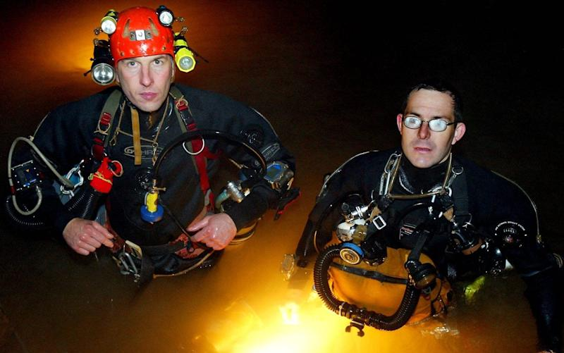 British divers Rick Stanton and John Volanthen have established a reputation as being among the greatest cave rescuers on the planet - SWNS - BRISTOL +44 (0)117 906655