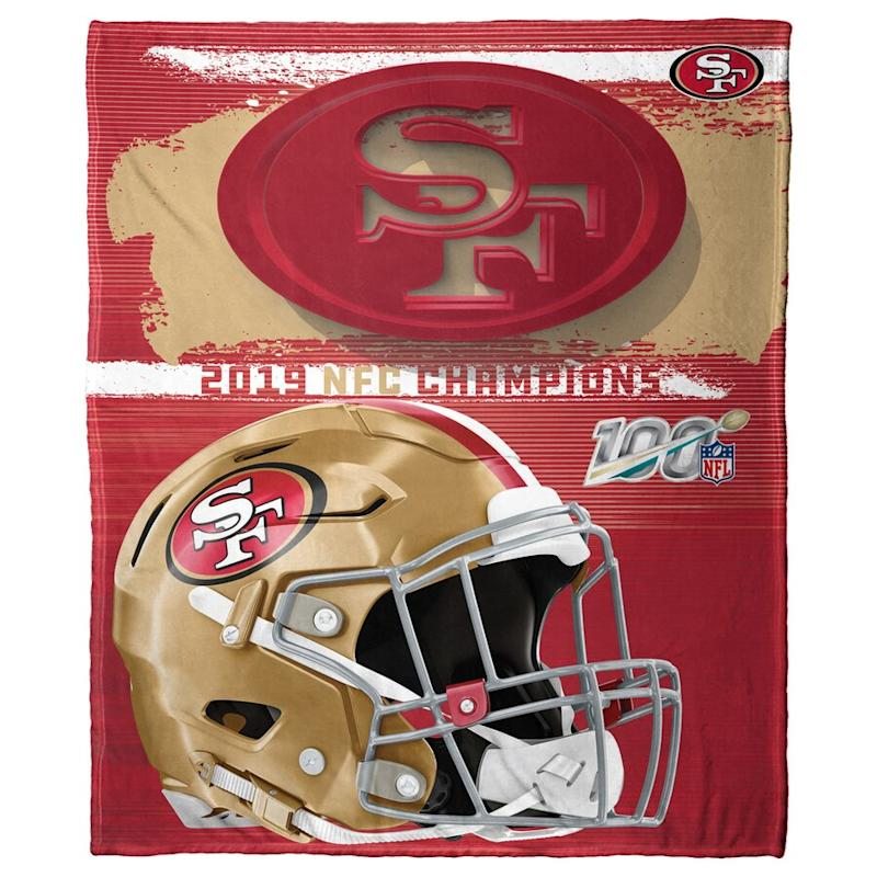 49ers 2019 NFC Champions Silk Touch Throw