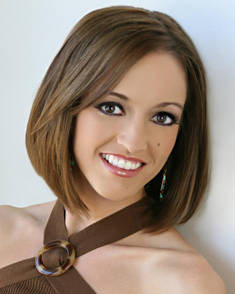 "Miss Connecticut, Ashley Christina Glenn, is a contestant in the <a href=""/miss-america-countdown-to-the-crown/show/44013"">Miss America 2009 Pageant</a>."