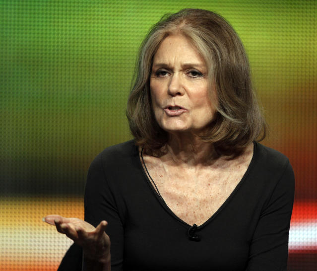 Gloria Steinem says President Trump has pushed people to become activists in response. (Photo: REUTERS/Fred Prouser)
