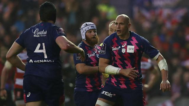 Cardiff Blues could not halt a Stade Francais side powered by Sergio Parisse from reaching the Champions Cup play-off final.