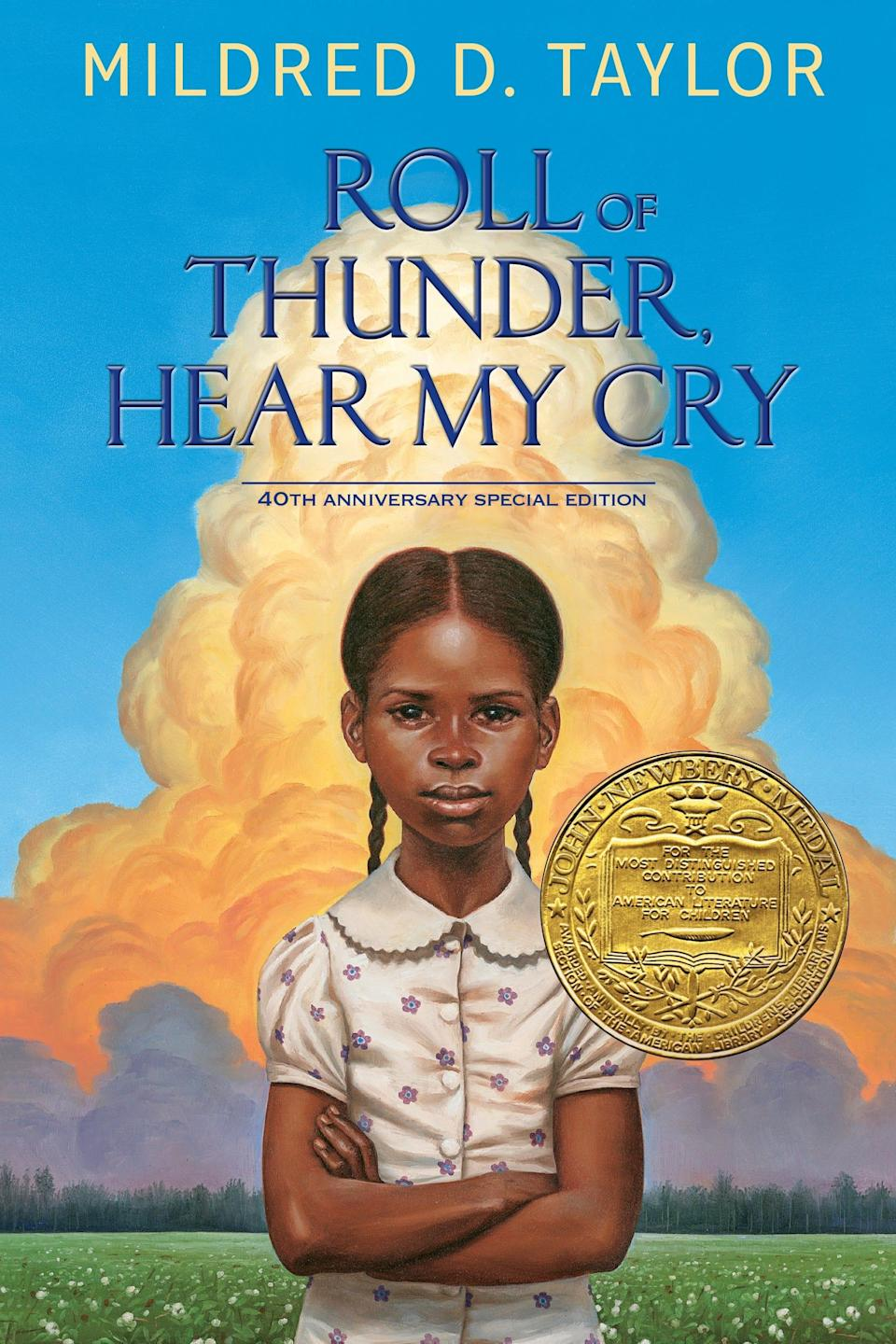 """""""Roll of Thunder, Hear My Cry,"""" by Mildred D. Taylor"""