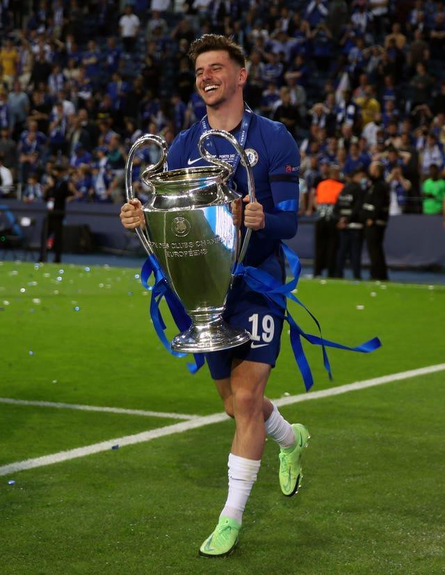 Mason Mount won the Champions League with Chelsea