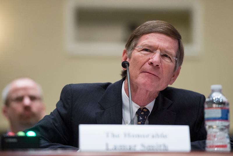 Rep. Lamar Smith (R-Texas), the 14th-longest-serving member of the U.S. House, retired in January. (Photo: Bill Clark/CQ Roll Call via Getty Images)