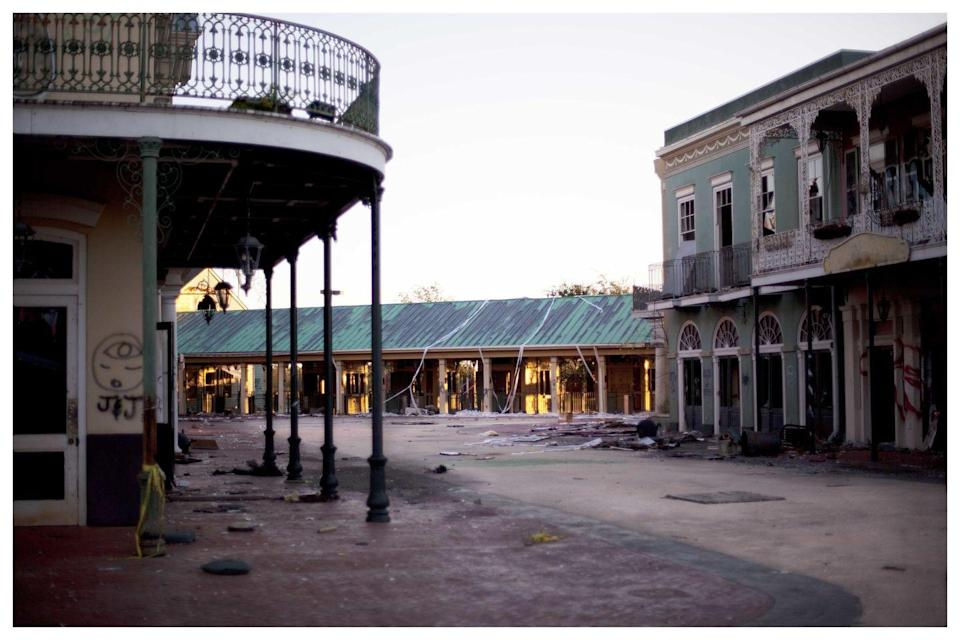 """<p><strong>Six Flags New Orleans - New Orleans, LA</strong></p><p>It's pretty safe to say that anything abandoned in New Orleans is pretty spooky, but the old Six Flags tops the list. The amusement park opened in 2000 but had to shut down merely five years later due to Hurricane Katrina. Some of the rides and buildings are still standing and plans to redevelop the park have fallen through. For now, it remains a creepy and abandoned ghost of its former self, and Mother Nature is reclaiming the land.<br></p><p>Photo: Flickr/<a href=""""https://www.flickr.com/photos/49775268@N07/8228047467/in/photolist-dxbieJ-dxbiGq-dx5RRz-dx5TRn-dx5MAc-dx5PPT-dx5Ns8-2aokCE-dx5U3a-3TLyiH-quqoZY-6Zny4t-6Znyw2-6ZrA1E-6ZnzeV-6ZPeDS-4Mh9Qf-6ZKdMB-6ZryfU-dx5RZi-dx5NRp-dx5PjR-dxbmdm-3TQTHo-qurvfG-22WYgpu-J3h78q-dx5LQR-quyG5V-27vRf-JUiPgc-J5MfB9-JPv2TA-J3h6UQ/"""" rel=""""nofollow noopener"""" target=""""_blank"""" data-ylk=""""slk:Erik Jorgensen"""" class=""""link rapid-noclick-resp"""">Erik Jorgensen</a></p>"""