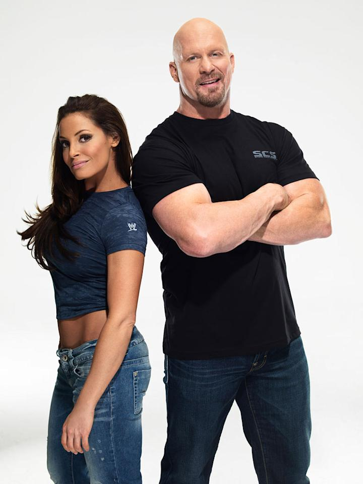"Thankfully, after nearly six years, ""Tough Enough"" is returning to TV! With the WWE, USA Network (home to ""Monday Night RAW""), trainers Trish Stratus, Bill DeMott, and Booker T., and new host ""Stone Cold"" Steve Austin at the helm, this go-round is guranteed to deliver huge ratings, awesome in-ring action, and a new WWE Superstar or Diva. Before you tune into the premiere, which airs Monday, April 4, at 11/10c (the day after Wrestlemania XXVII and immediately following ""Monday Night RAW""), check out this season's combatants."