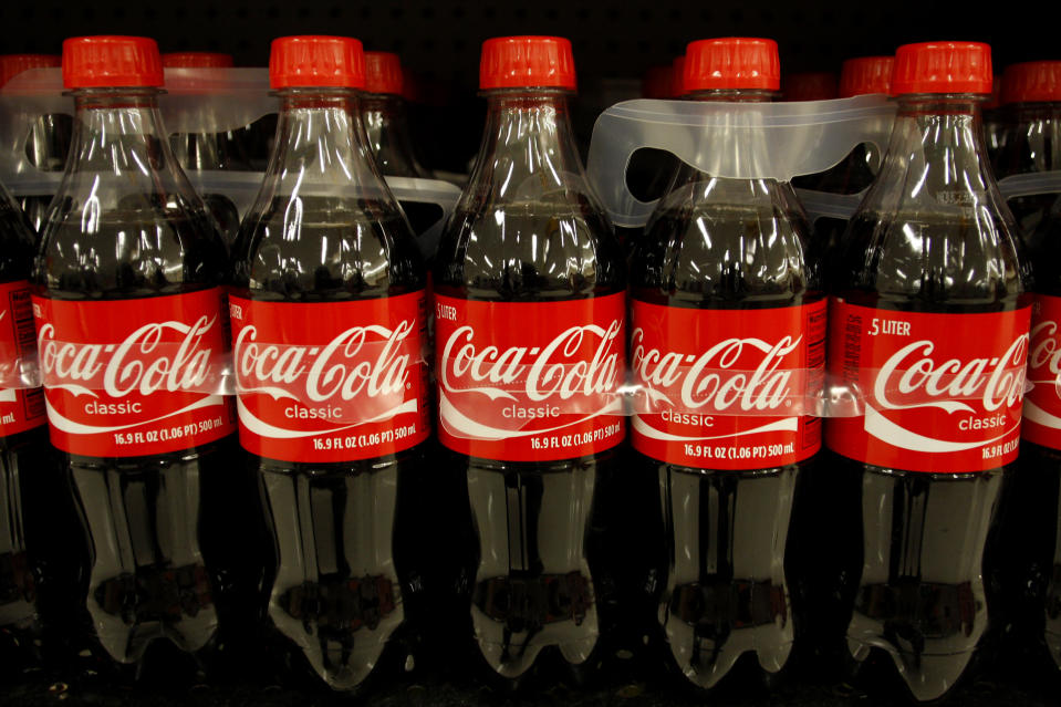 UK-based Coca-Cola European Partners is the world's largest independent bottler of Coca-Cola by revenue, with a market value of $17.7bn (£13.6bn). Photo: Reuters/Joshua Lott