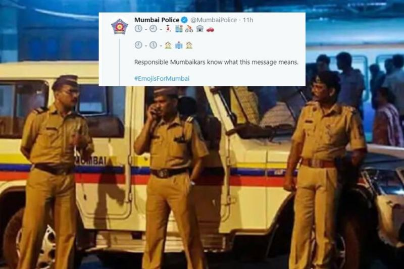 Mumbai Police Use Hidden Message to Spread Lockdown Awareness, Can You Decode?