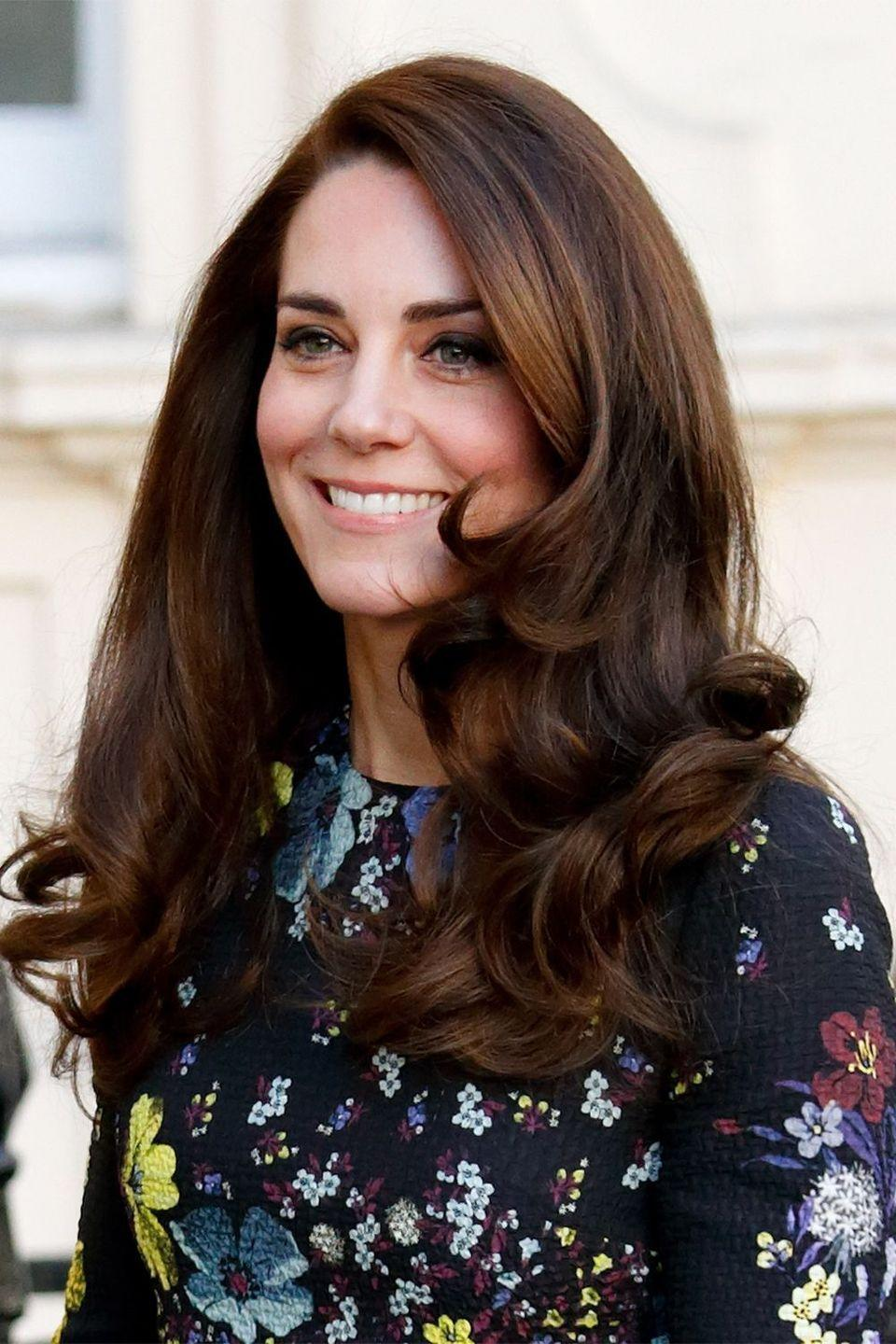 <p>The Duchess of Cambridge continues her reign as the queen of bouncy blowouts</p>