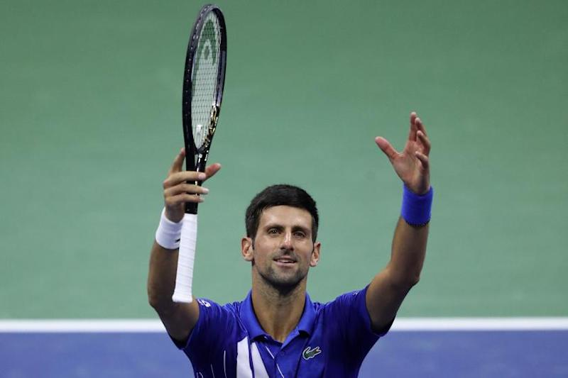 Djokovic Disqualified In U S Open After Accidentally Hitting Line Judge