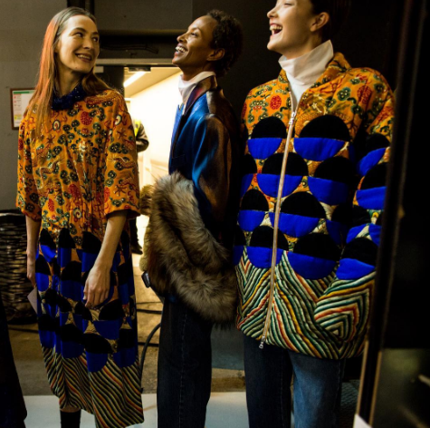 <p>To celebrate it's 100th show, designer Dries Van Noten filled it's runway with some of their favourite models of all time, including Amber Valletta, Yasmin Warsame and Caroline de Maigret. The famous models are all in the fourties and absolutely ruled on the runway, proving age is just a number. [Photo: Dries Van Noten/ Instagram] </p>