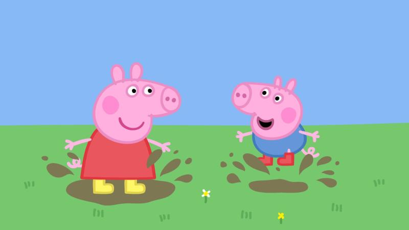 60ebaa8e7de1 Peppa Pig is giving US children British accents