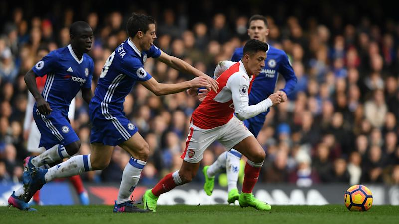 Chelsea boss Conte refuses to be drawn on 'disrespectful' links to Arsenal's Alexis Sanchez