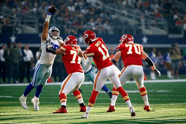 Week 11 Tale Of The Tape: Kansas City Chiefs At New York Giants