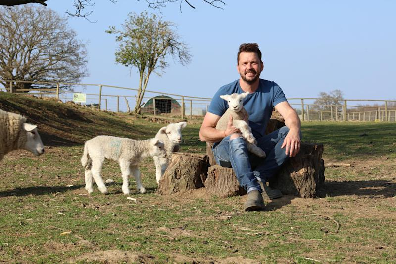 Jimmy Doherty's opened up his farm for a new series. (Richard Hughes)