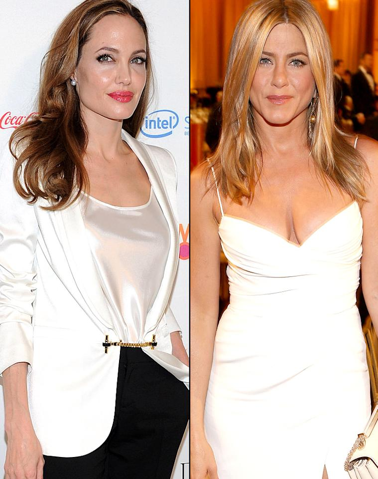 "Angelina Jolie ""mocked"" Jennifer Aniston's recent engagement during a conversation with Brad Pitt's mom, reveals <i>Star</i>.The mag reports Jolie ranted to Jane Pitt that Aniston's ""pathetic"" and that Justin Theroux's going to ""dump"" her before the wedding -- and that Jane told Aniston what Jolie said. For how Aniston reacted to Jolie's trash talk, go to <a target=""_blank"" href=""http://www.gossipcop.com/angelina-jolie-mocked-jennifer-aniston-jane-pitt-brad-mom/"">Gossip Cop</a>."