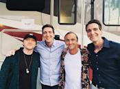 """<p>The Weasleys put aside their differences with the Malfoys for this reunion picture taken in Orlando, Florida in June. </p><p><a href=""""https://www.instagram.com/p/ByrY-2KAjKN/"""" rel=""""nofollow noopener"""" target=""""_blank"""" data-ylk=""""slk:See the original post on Instagram"""" class=""""link rapid-noclick-resp"""">See the original post on Instagram</a></p>"""