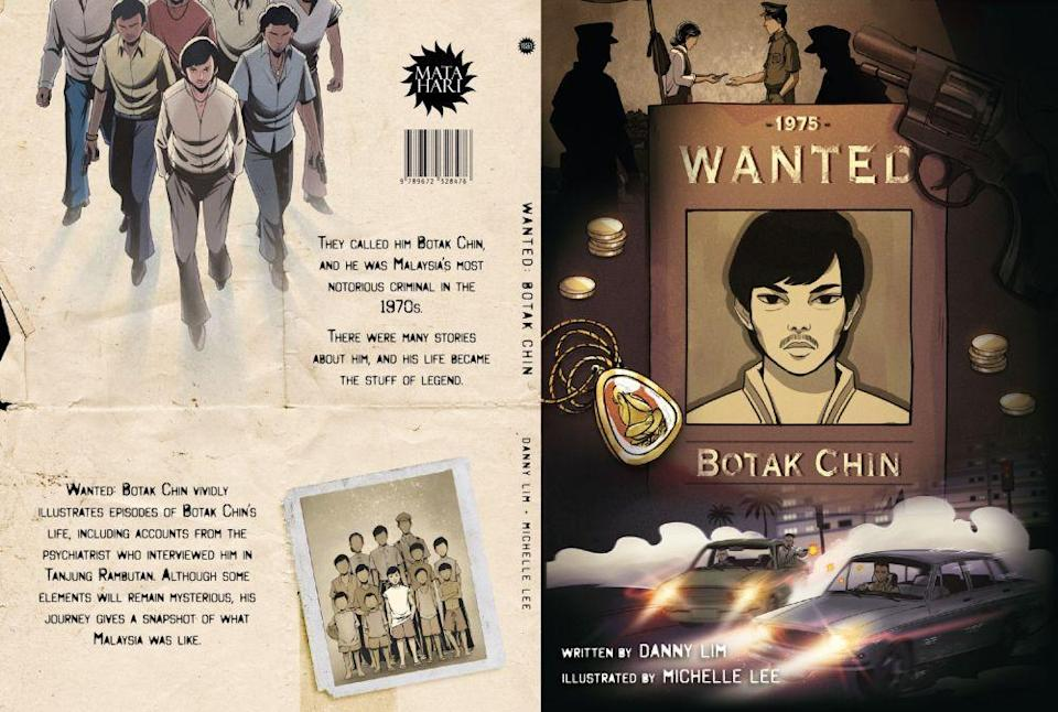 Lim brings to light several facets about Botak Chin in the pseudo-biography 'Wanted: Botak Chin'. — Picture courtesy of Matahari Books