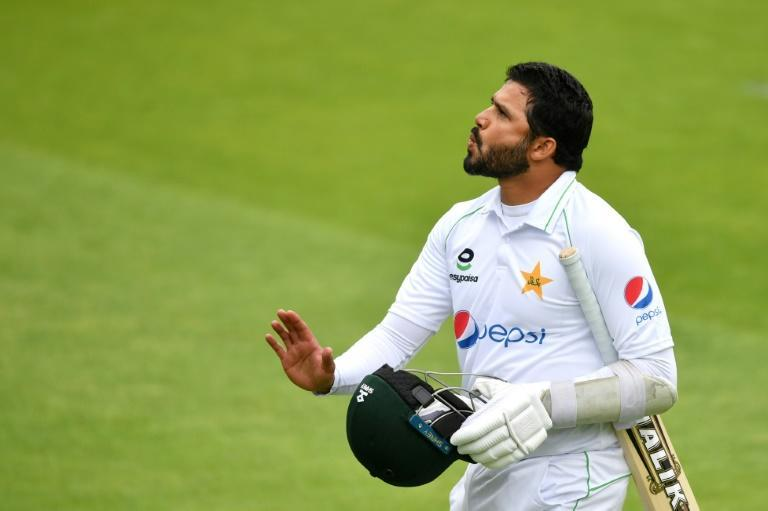 Struggles - Pakistan captain Azhar Ali managed just 18 runs during a three-wicket defeat by England in the first Test at Old Trafford