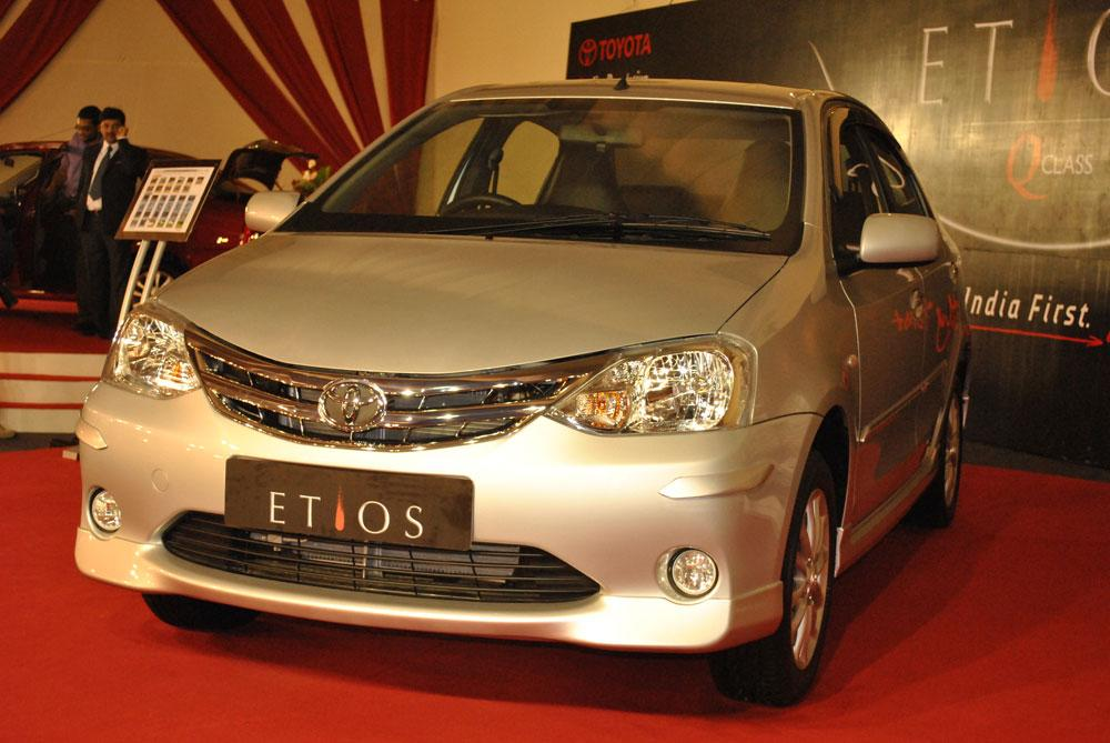Etios boasts of innovative styling, best-in-class cabin and luggage space and impressive mileage of 17.6kmpl (ARAI tested).