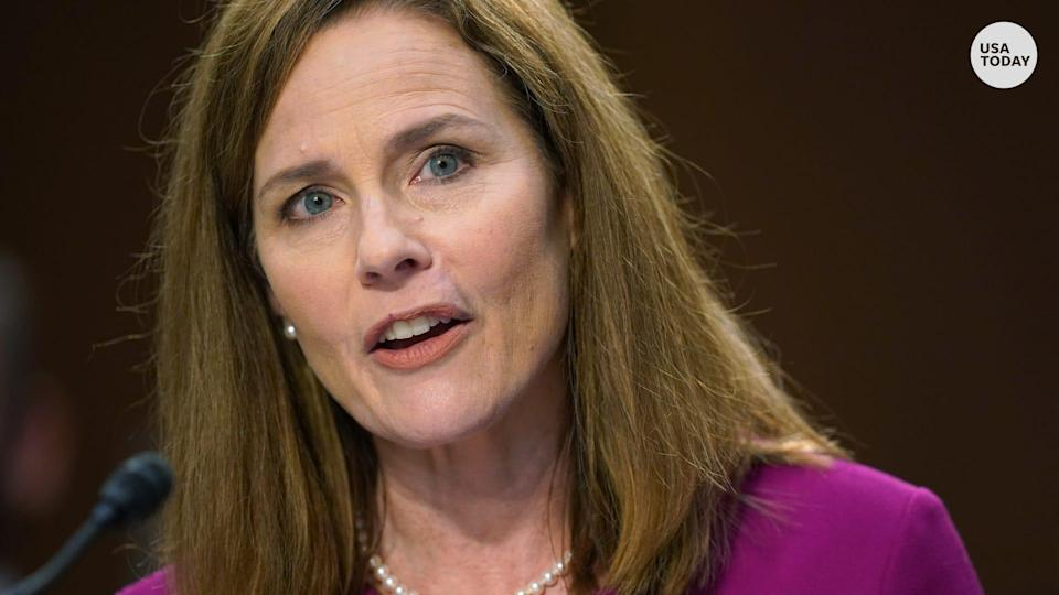 Judge Amy Coney Barrett delivered her opening statement in her Supreme Court confirmation hearing.