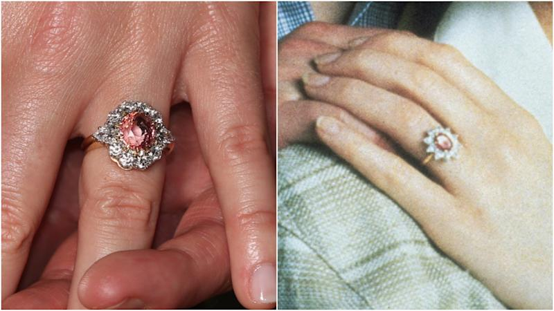 princess eugenie sarah ferguson engagement rings