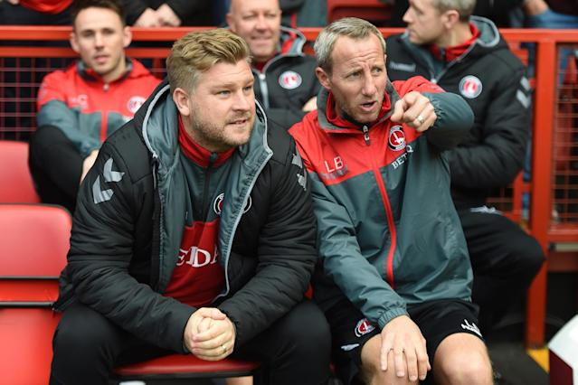 Charlton caretaker Lee Bowyer in the dark over Harry Kewell link
