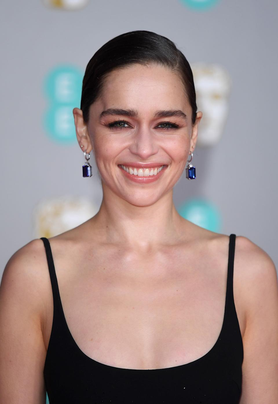 Emilia Clarke at the Baftas earlier this year (Photo: Karwai Tang via Getty Images)