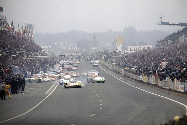 Famous Le Mans start returns to UK in one-off