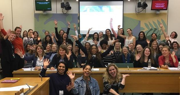 Women at the House of Commons for 'Becoming an MP workshop' Oct 2017