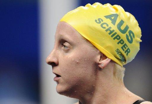 Jessicah Schipper is expected to spend the next fortnight out of the water