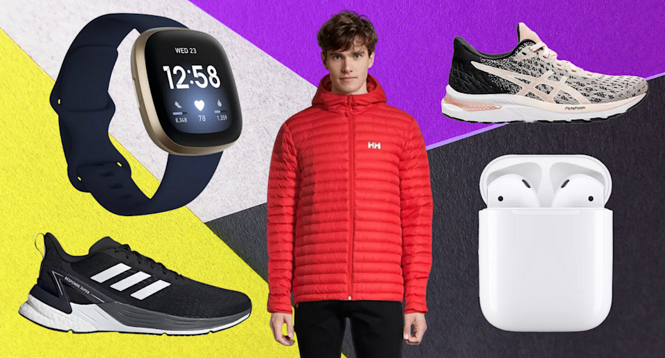 Hundreds of items at Sport Chek are on sale — including Apple AirPods, Nike sneakers, and more! (Photos via SportChek)