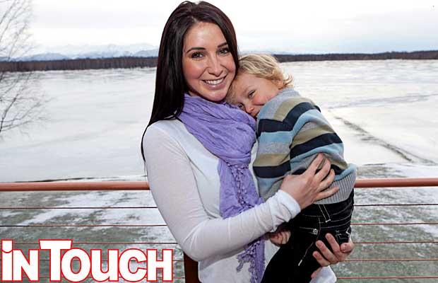 Caption: Bristol Palin is happy to be back in Alaska with son Tripp. Credit: In Touch
